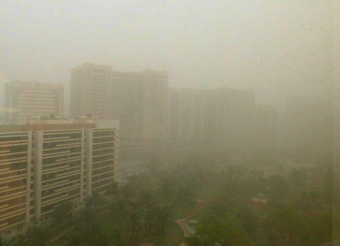 Abu Dhabi sandstorm