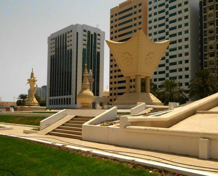 Abu Dhabi monument
