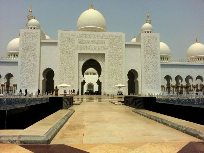 Grand Mosque in Abu Dhabi