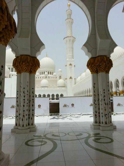 Grand Mosque in Abu Dhabi
