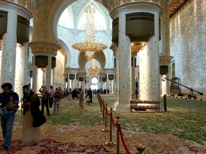 Grand Mosque prayer room