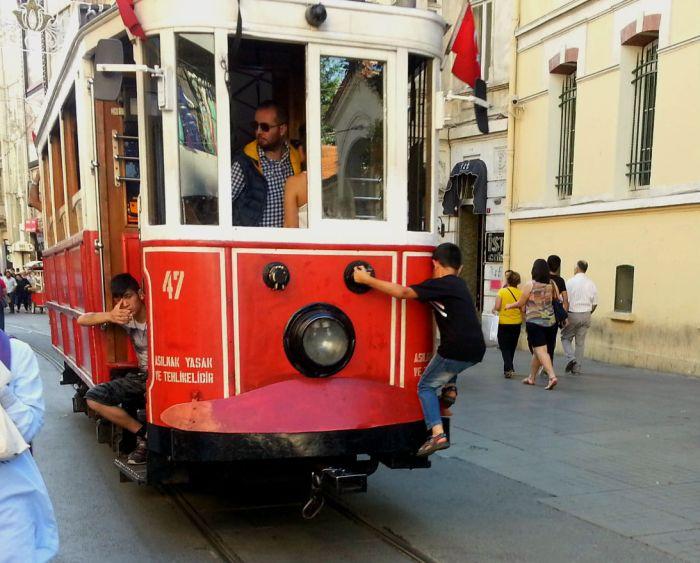 Istanbul trolley