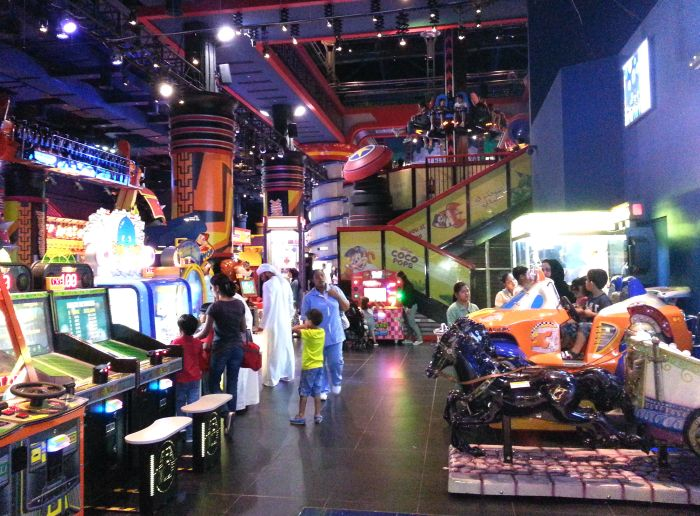 Dubai Mall amusement park