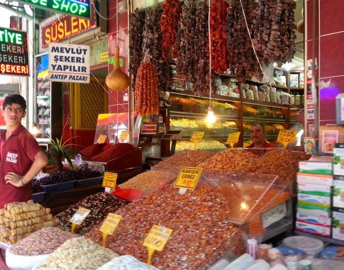 Spice shop in Istanbul