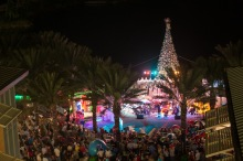 Camana Bay Christmas tree lighting
