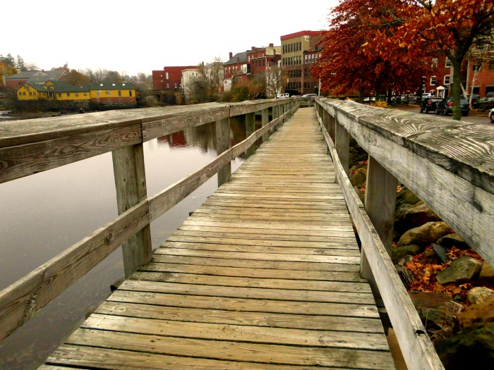 Exeter River waterfront