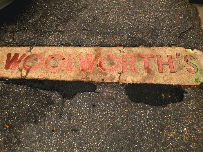 Woolworth's ground marker
