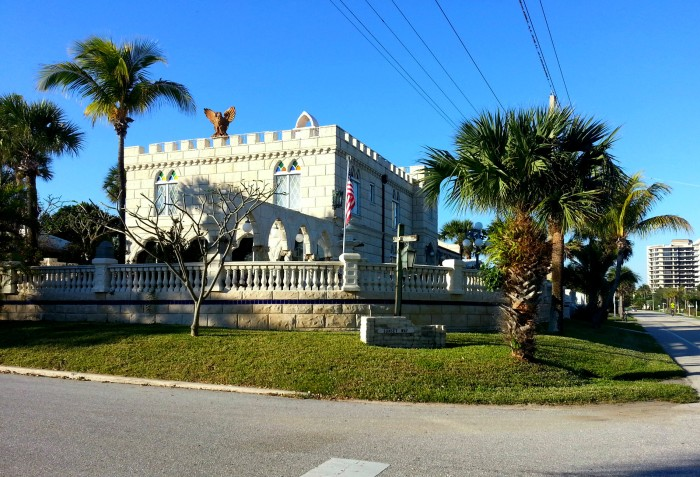 Castle house in Juno Beach