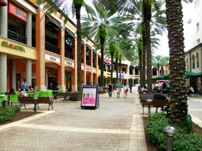 CityPlace mall in West Palm Beach