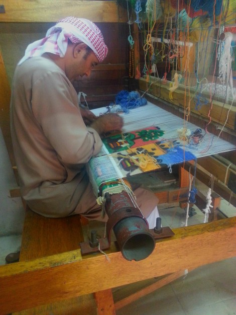 Artisan at Heritage Village in Abu Dhabi