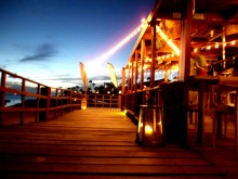 The West Deck restaurant Oranjestad Aruba beach good food
