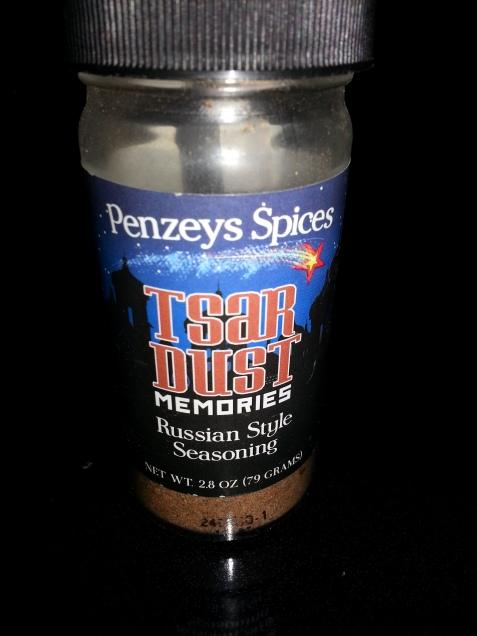 Penzey's Tsardust Memories spice