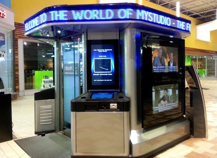 MyStudio recording kiosk