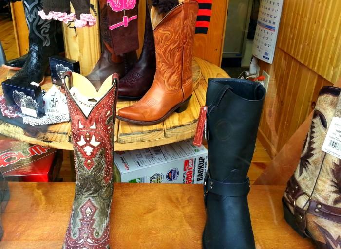 Nashville boot shop