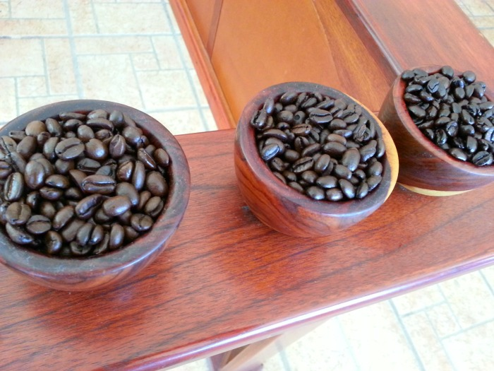roasted Costa Rican coffee