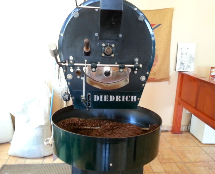 Costa Rica coffee roaster
