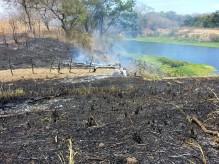 Costa Rica wildfire