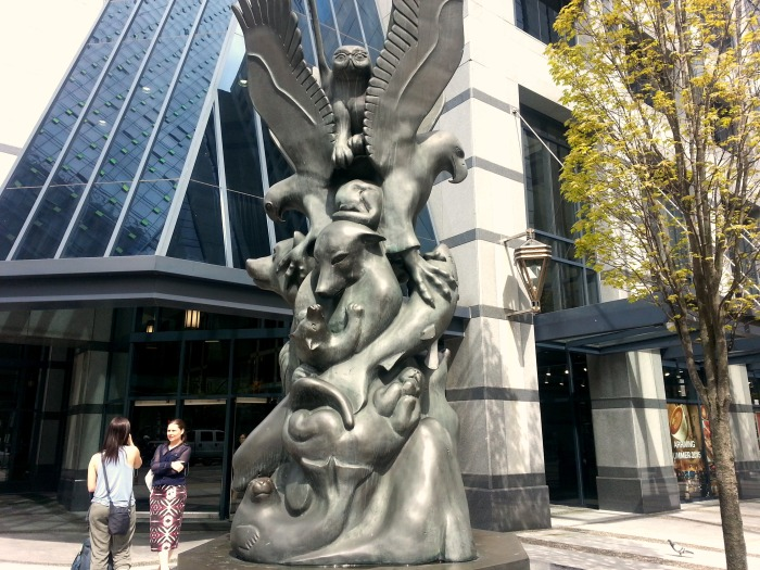 Vancouver First Nations sculpture