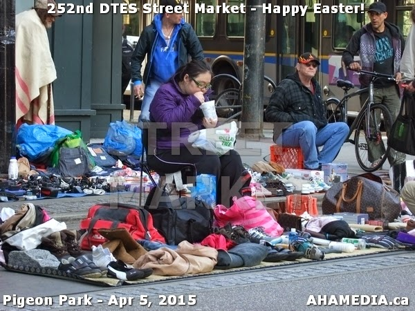 downtown eastside street market
