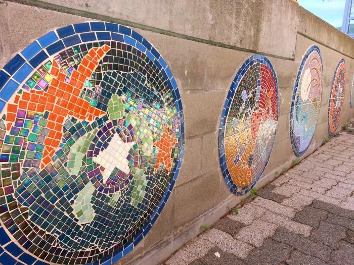 Granville Island tiles
