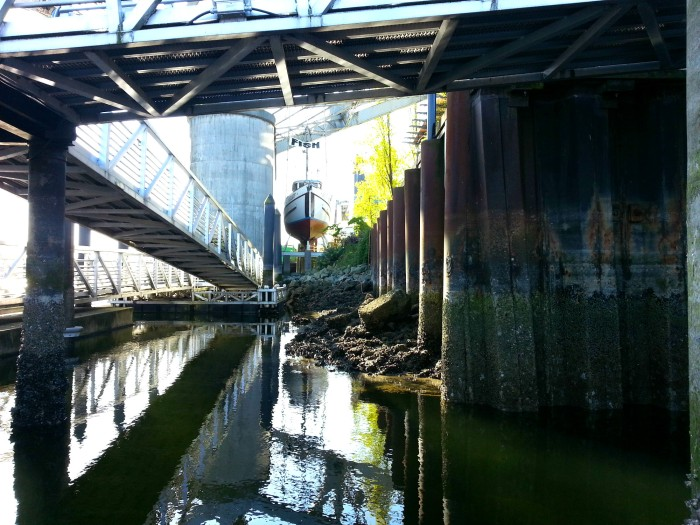 Granville Island dock