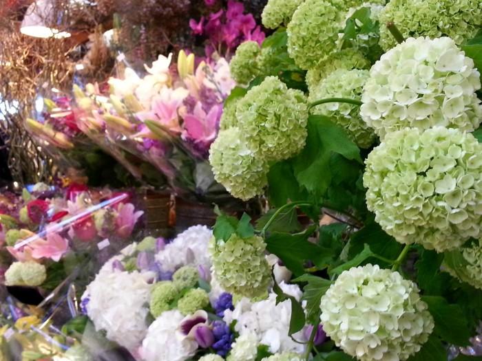 Granville Island Public Market flowers
