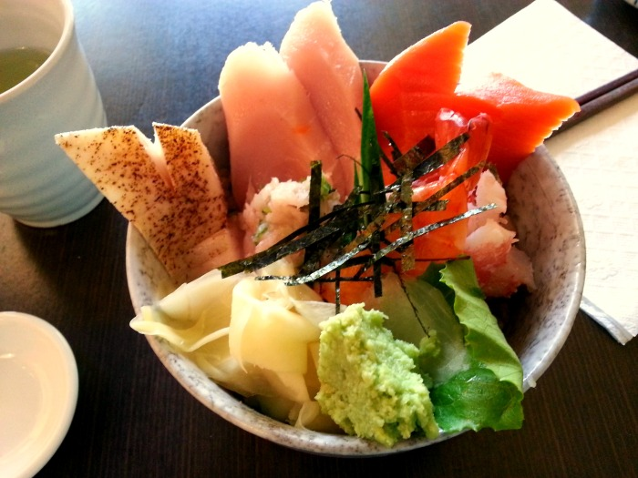 Shizen Ya sushi in Vancouver