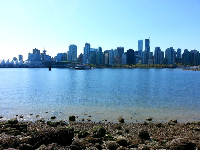 Downtown Vancouver view