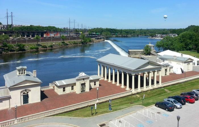 Schuylkill River in Philadelphia