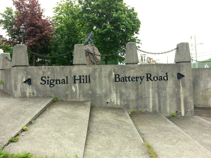 Signal Hill sign in St. John's