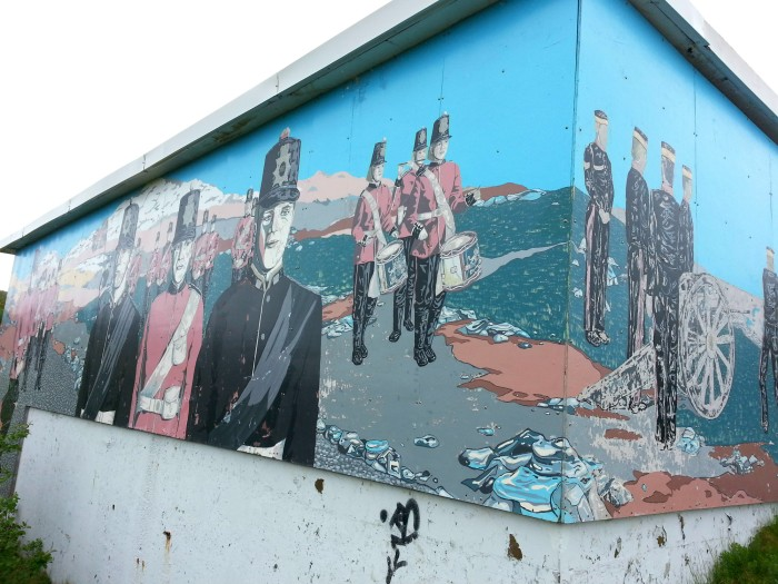Mural on Signal Hill