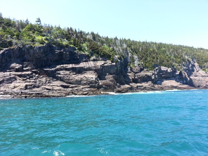 Boat ride near St. John's