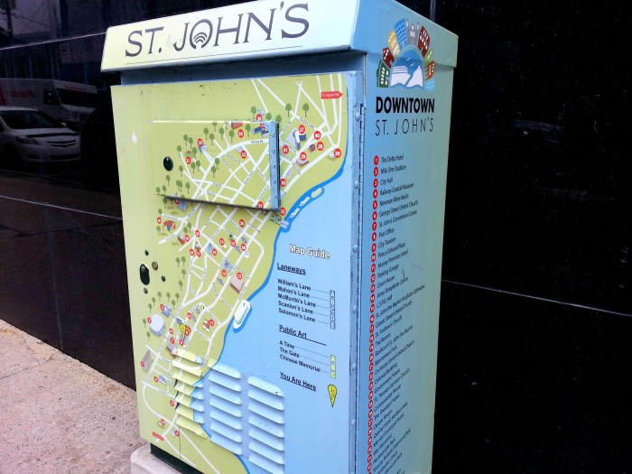 St. John's electrical box