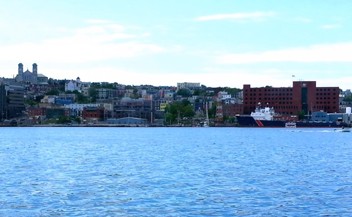 St. John's harbor view