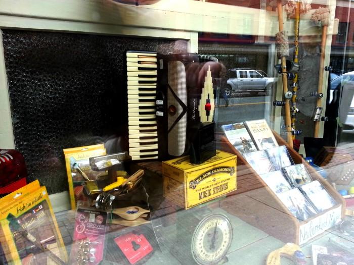 St. John's music store