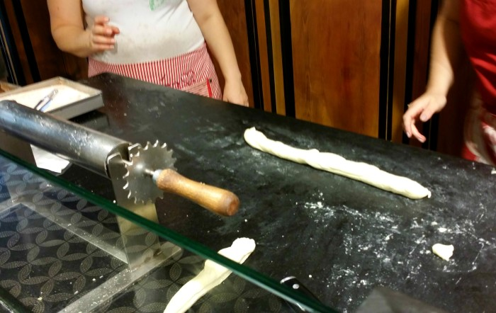 Making trdelnik in Prague