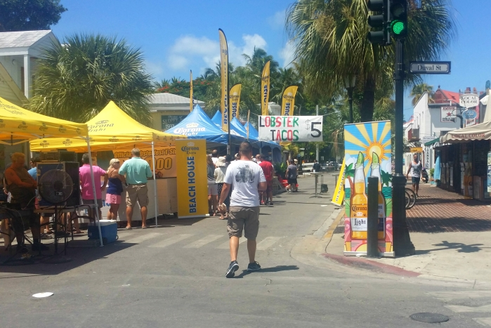Key West Lobsterfest vendors