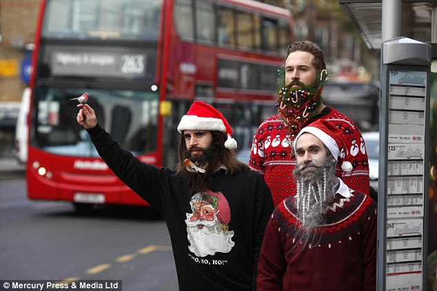 holiday beards