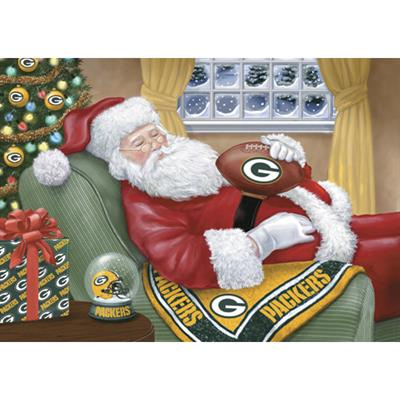 Santa and Green Bay Packers
