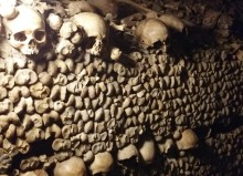 bones paris catacombs