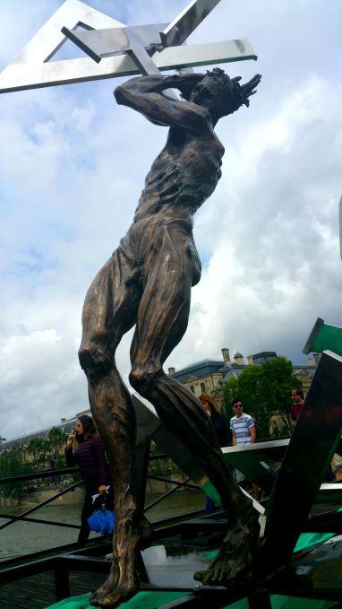 Paris art Pont des Artes