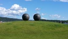 boob sculpture Oslo