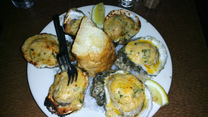 grilled oysters New Orleans